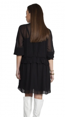 Dress with Frill and Neck Tie ONLINE