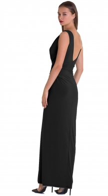 Maxi dress with different straps