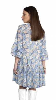 Floral Dress with Frill ONLINE