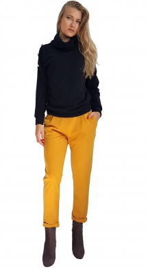 Monochrome Trousers with Pockets NAIBA