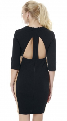 Mini Bodycon Φόρεμα με Cut outs