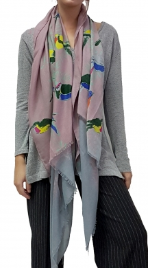 Two Coloured Scarf