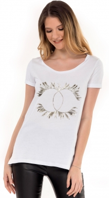 Γυναικείο basic t-shirt Golden Crowns Online