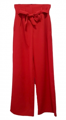 Fabric Bell Trouser with Belt