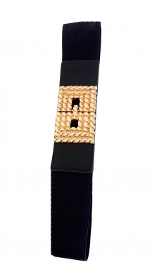 Elastic Belt with Clasp Stella