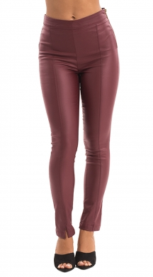 Leatherlook Pants with Seams ONLINE