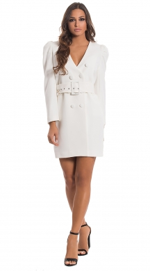 Blazer Dress with Balloon Sleeves ONLINE