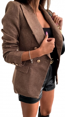 Jacket with gold Buttons