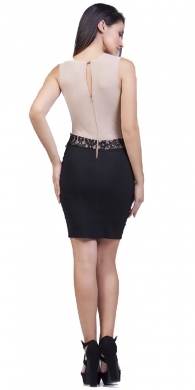 Night Bodycon Dress with lace