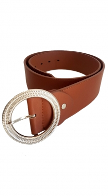 Leatherlook Belt with Βuckle Life