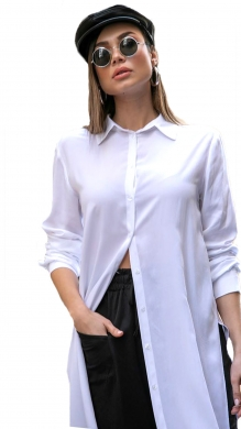 Shirt with open back NAIBA