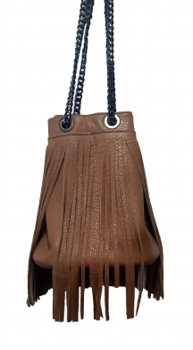 Leather Bag with Fringes  LIMITED EDITION
