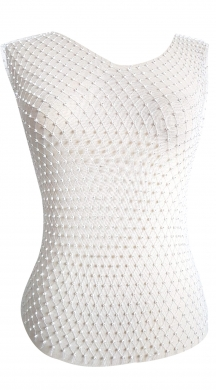 Fishnet Top with strass