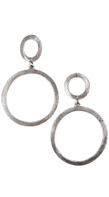 Double Circles Earings