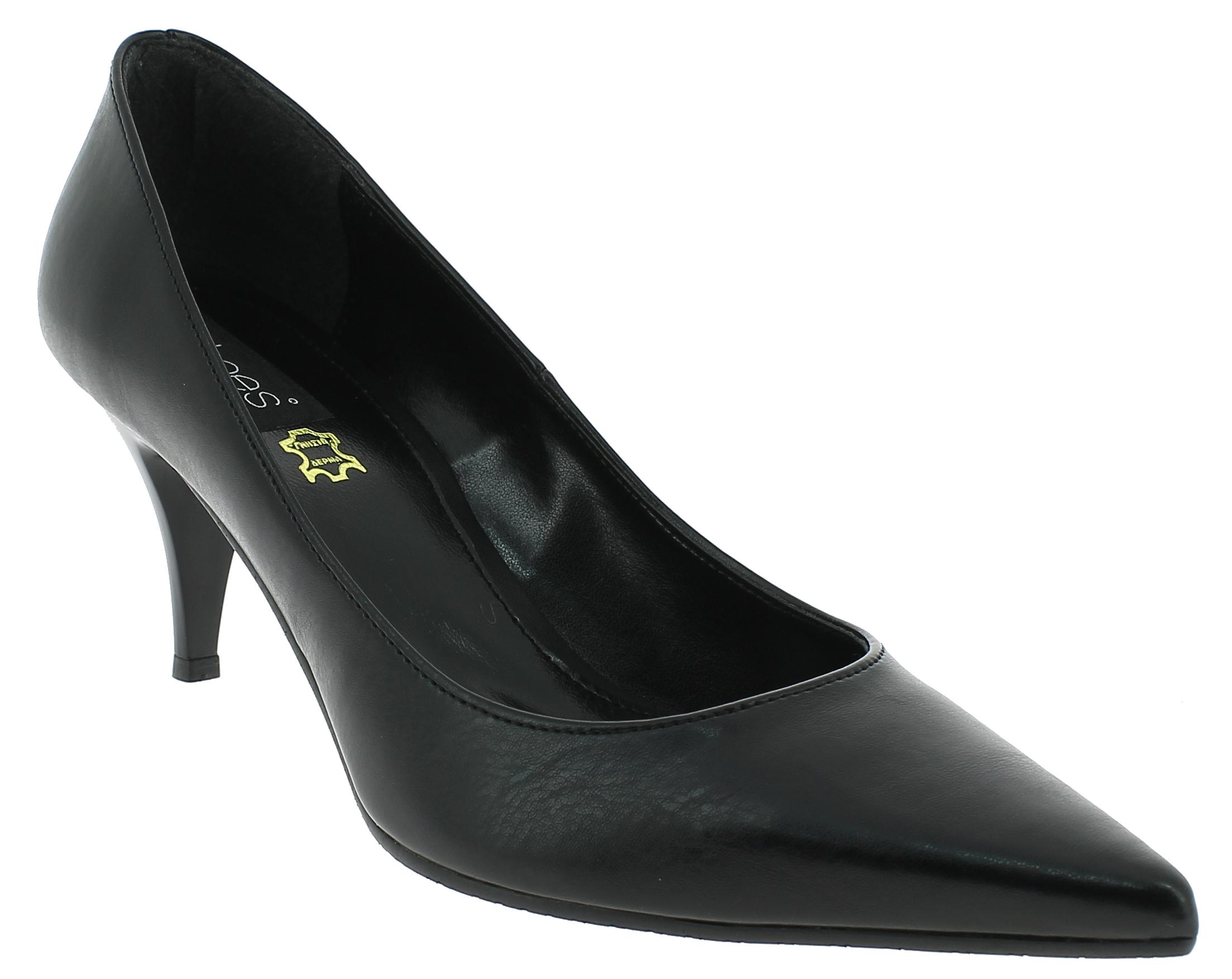 IQSHOES Γυναικεία Γόβα 590 Μαύρο - IqShoes - 41.590 BLACK black 37/1/15/27 παπούτσια  γόβες