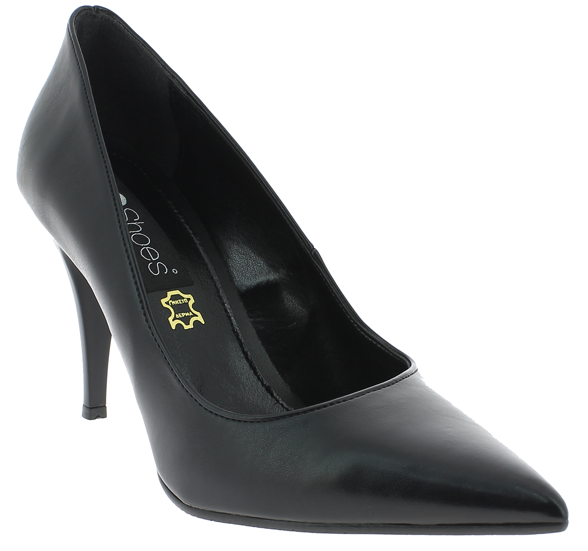 IQSHOES Γυναικεία Γόβα 710 Μαύρο - IqShoes - 41.710 BLACK black 37/1/15/27 παπούτσια  γόβες