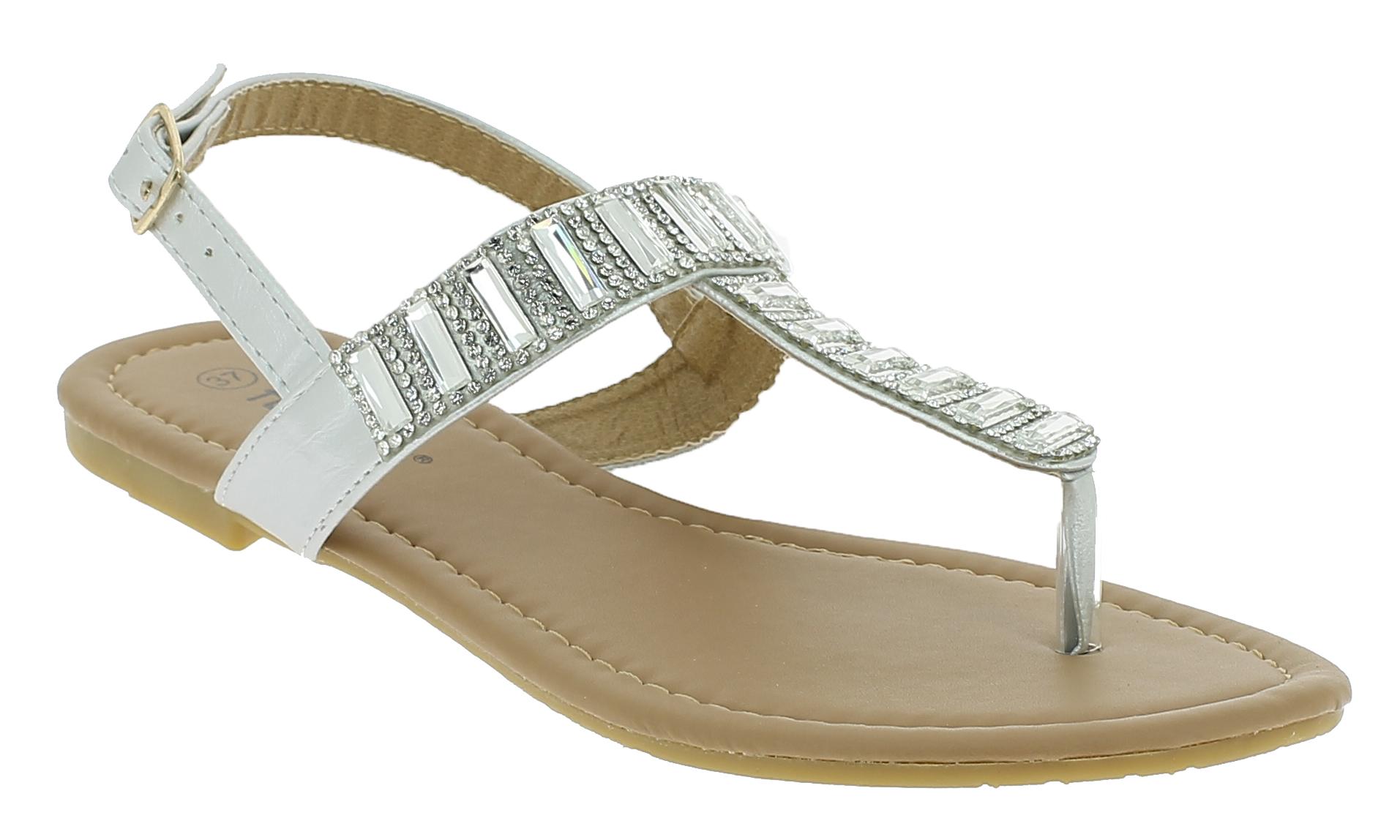 Γυναικεία Σανδάλια B721520 Ασημί - IqShoes - B721520 SILVER silver 37/1/35/27 παπούτσια  γυναικεία σανδάλια   πέδιλα