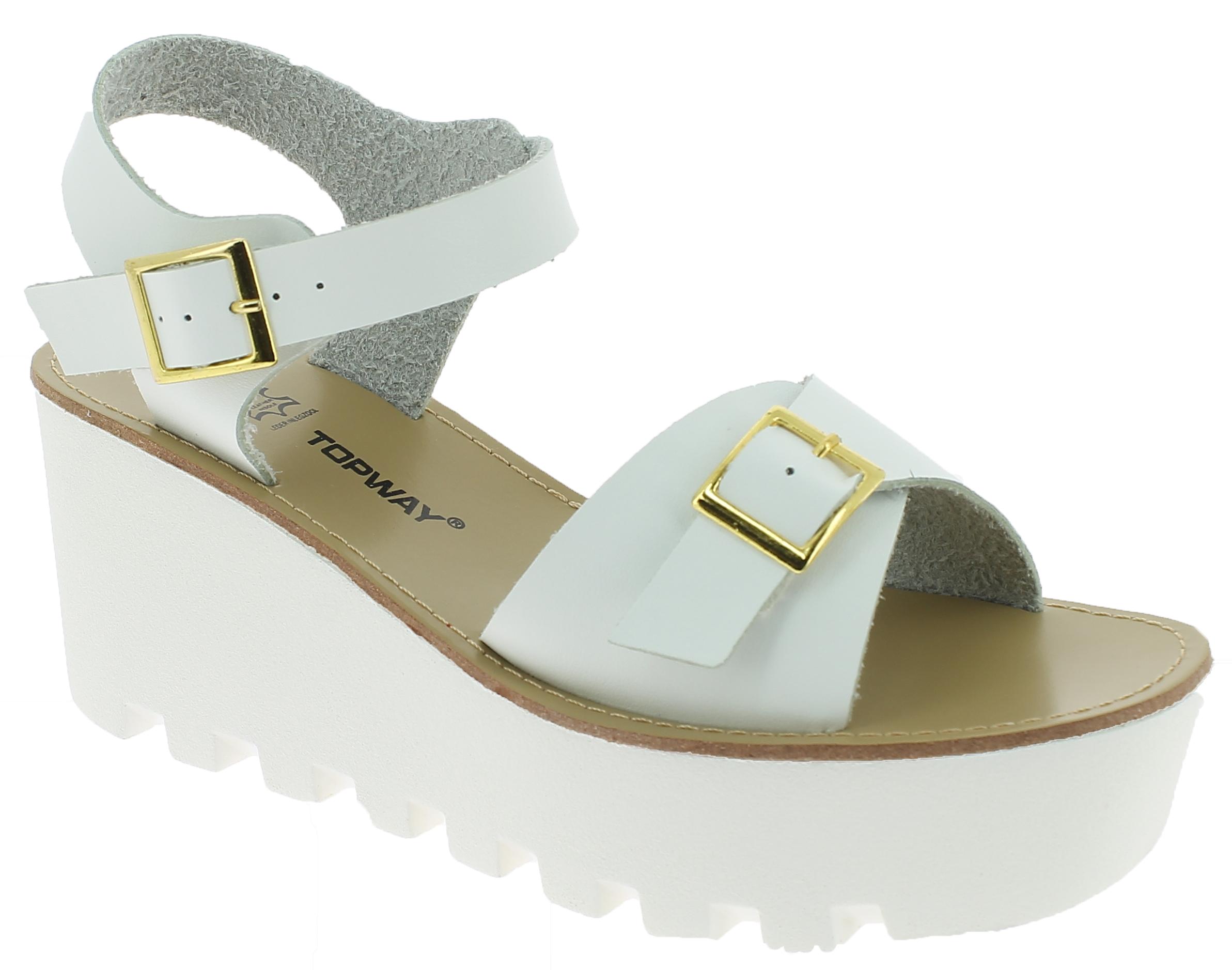 IQSHOES Γυναικεία Πλατφόρμα B716230 Λευκό - IqShoes - B716230 white 39/1/14/25 παπούτσια  γυναικείες πλατφόρμες