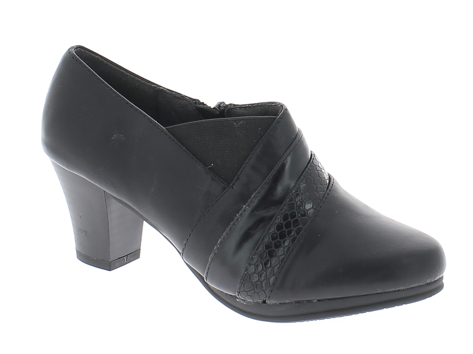 IQSHOES Γυναικεία Γόβα 0353 Μαύρο - IqShoes - 035-3 BLACK black 39/1/15/25 παπούτσια  γόβες