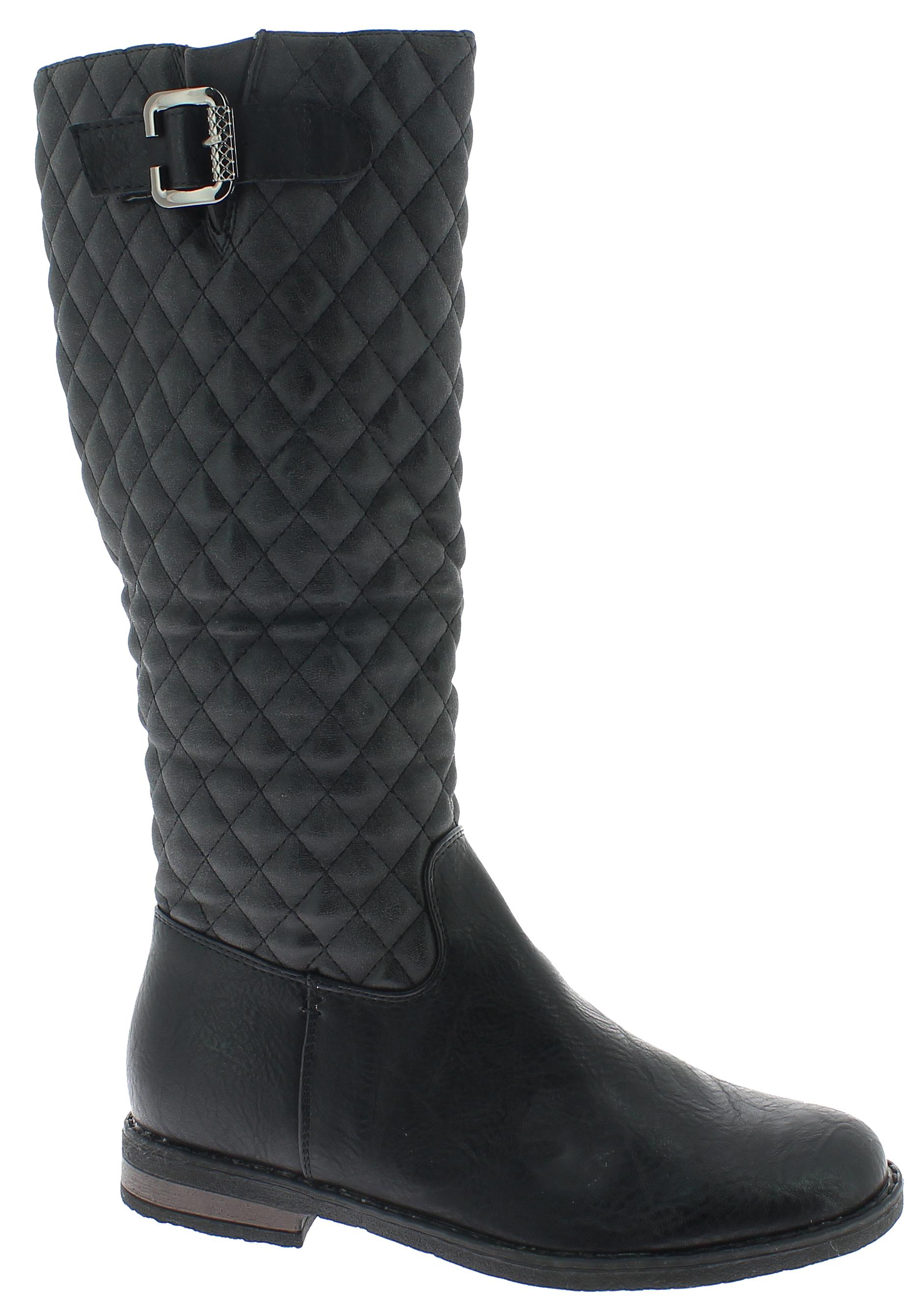 DEITIJ Γυναικεία Μπότα YSY7511 Μαύρο - IqShoes - YSY7511 BLACK-black-38/1/15/11 παπούτσια  γυναικεία μποτάκια