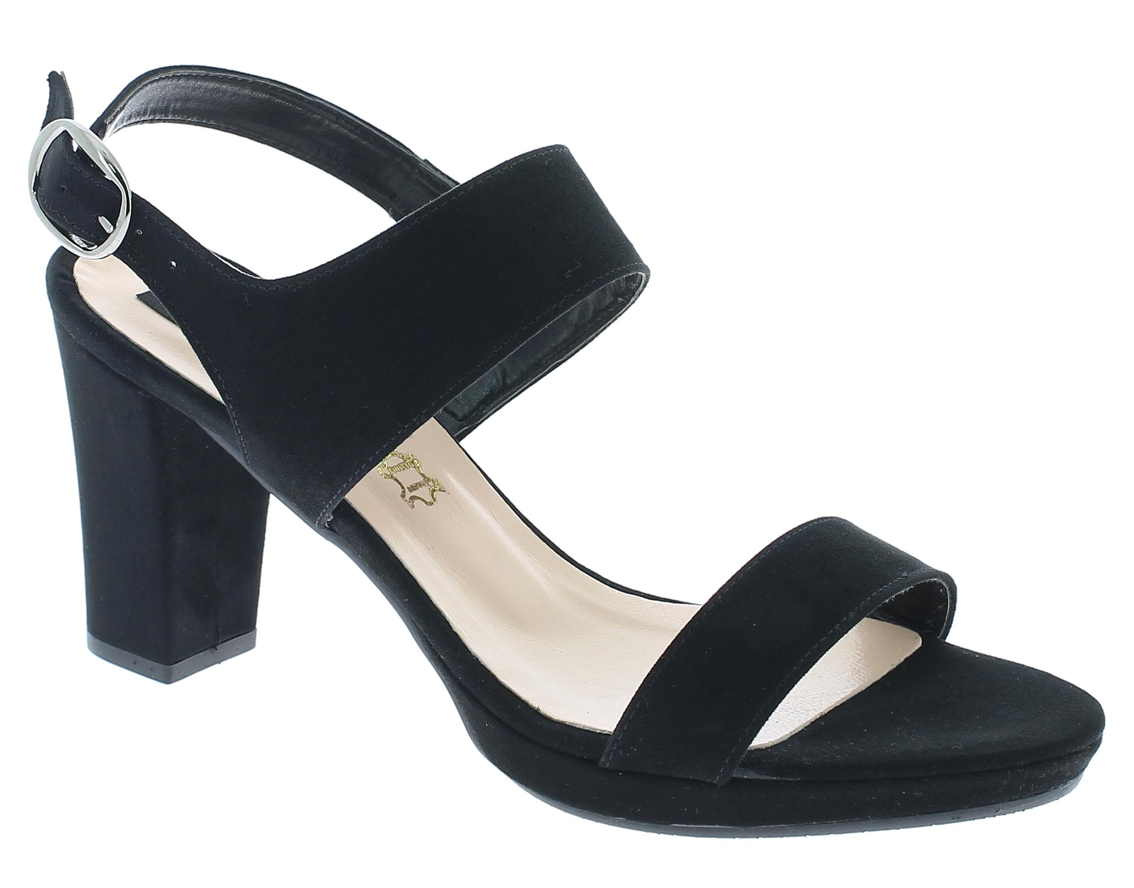 IQSHOES Γυναικείο Πέδιλο 376 Μαύρο - IqShoes - 41.376 BLACK -black-36/1/15/7 παπούτσια  πέδιλα