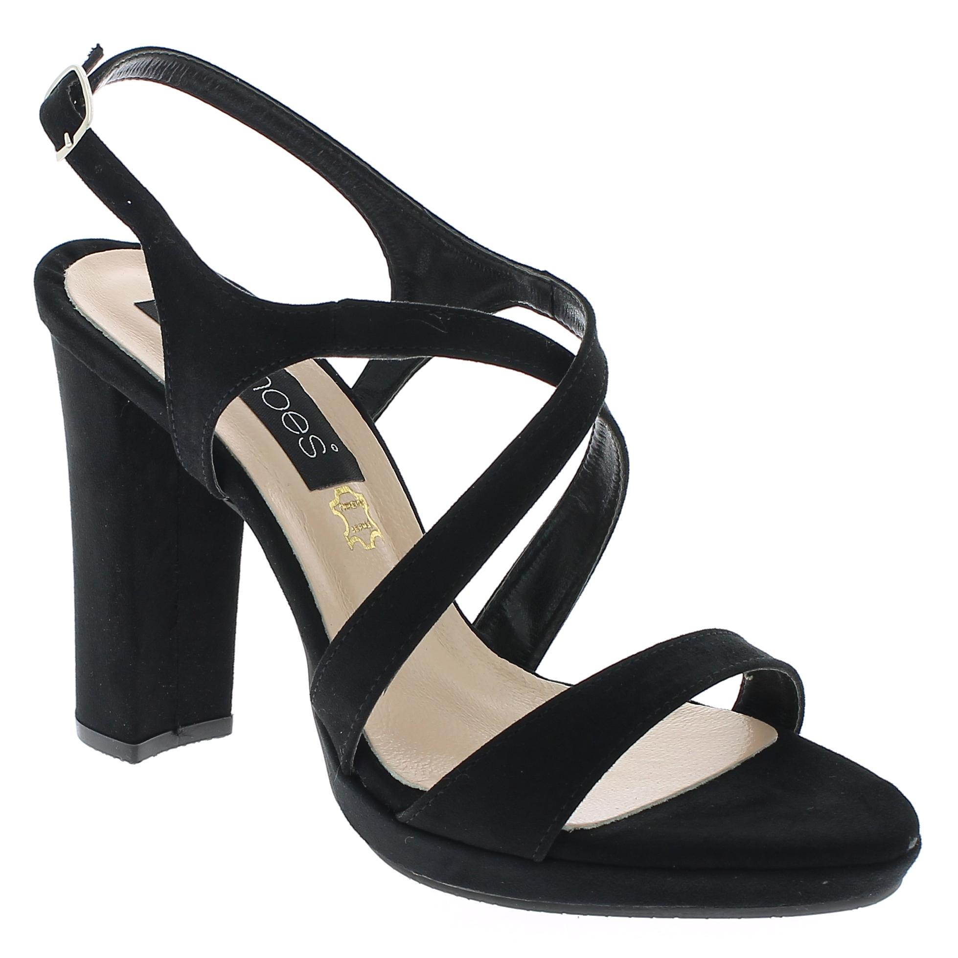 IQSHOES Γυναικείο Πέδιλο 1032 Μαύρο - IqShoes - 41.1032 BLACK -black-37/1/15/27 παπούτσια  πέδιλα