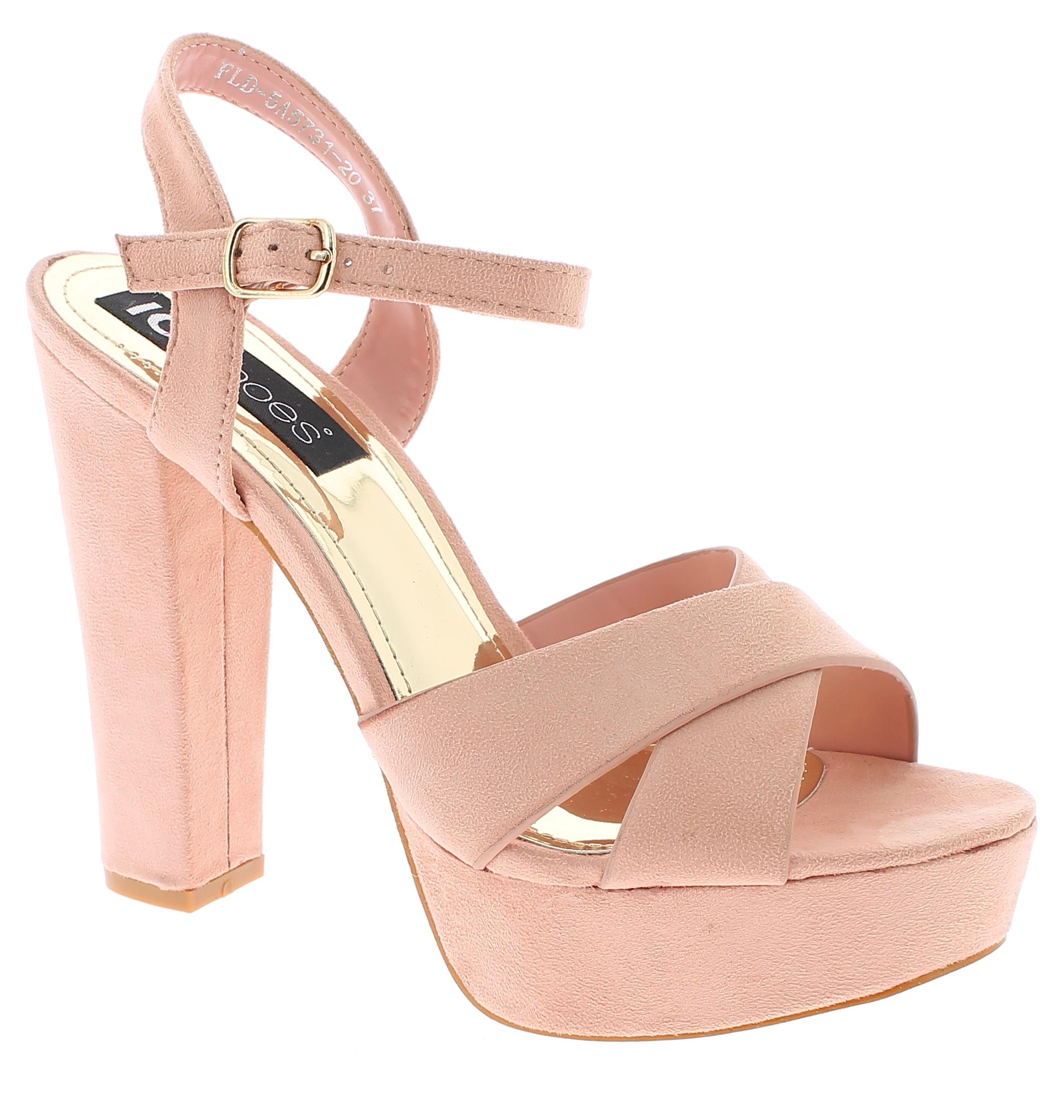 IQSHOES Γυναικείο Πέδιλο 5A5731 Ροζ - IqShoes - 5A5731 PINK-pink-36/1/11/7 παπούτσια  πέδιλα