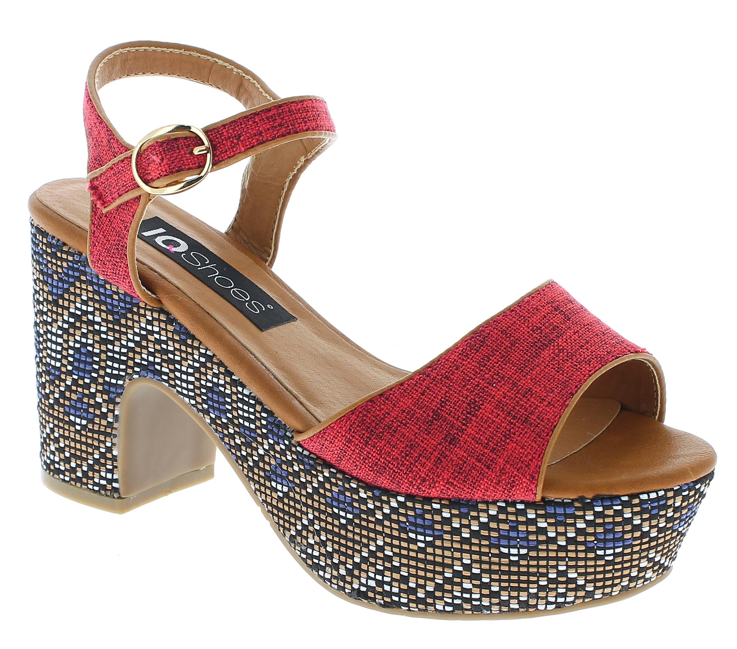 IQSHOES Γυναικείο Πέδιλο 3A361 Κόκκινο - IqShoes - 3A361 RED-red-35/1/3/29 παπούτσια  πέδιλα