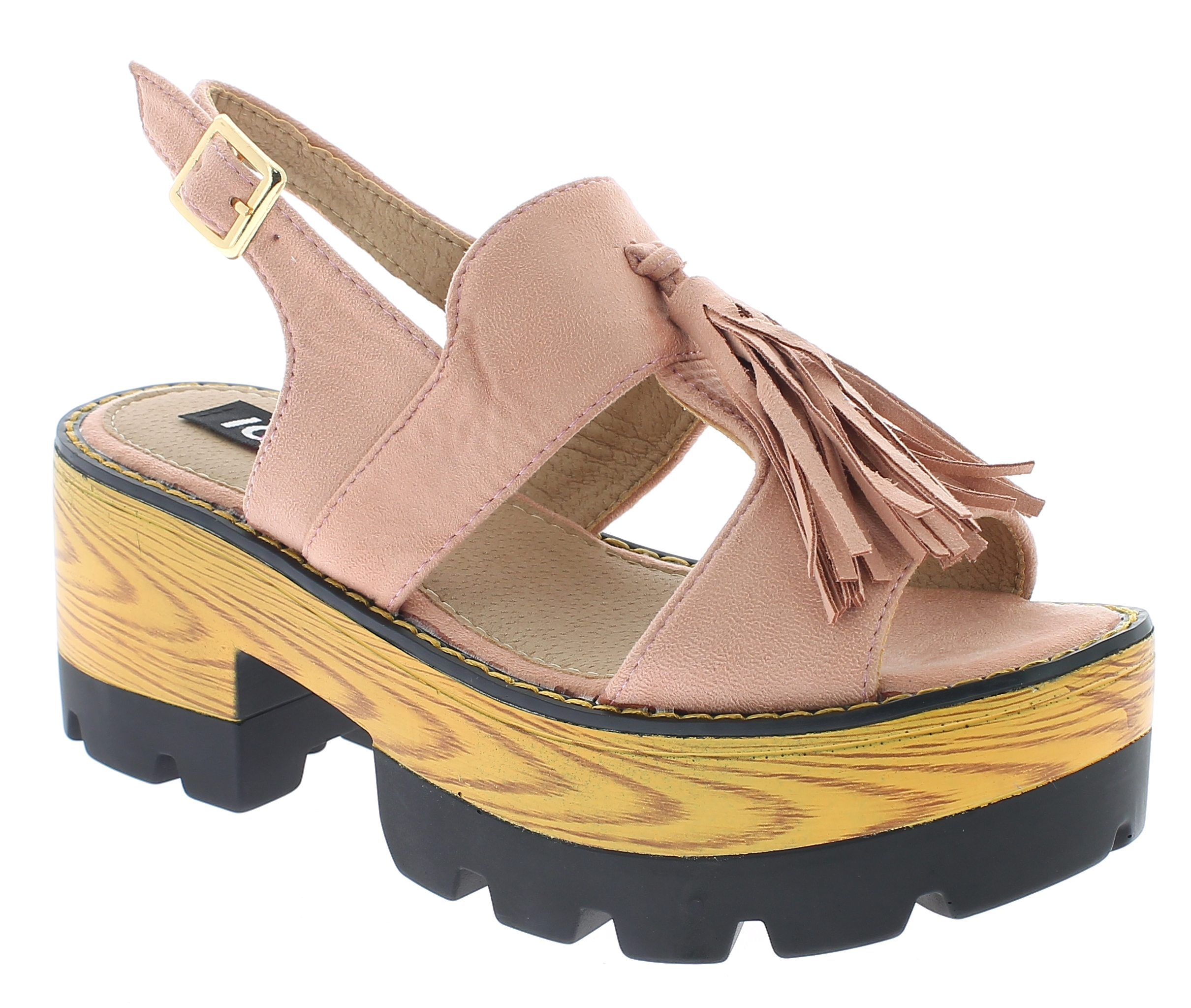 IQSHOES Γυναικείο Πέδιλο 5A5716 Ρόζ - IqShoes - 5A5716 PINK-pink-36/1/11/7 παπούτσια  πέδιλα