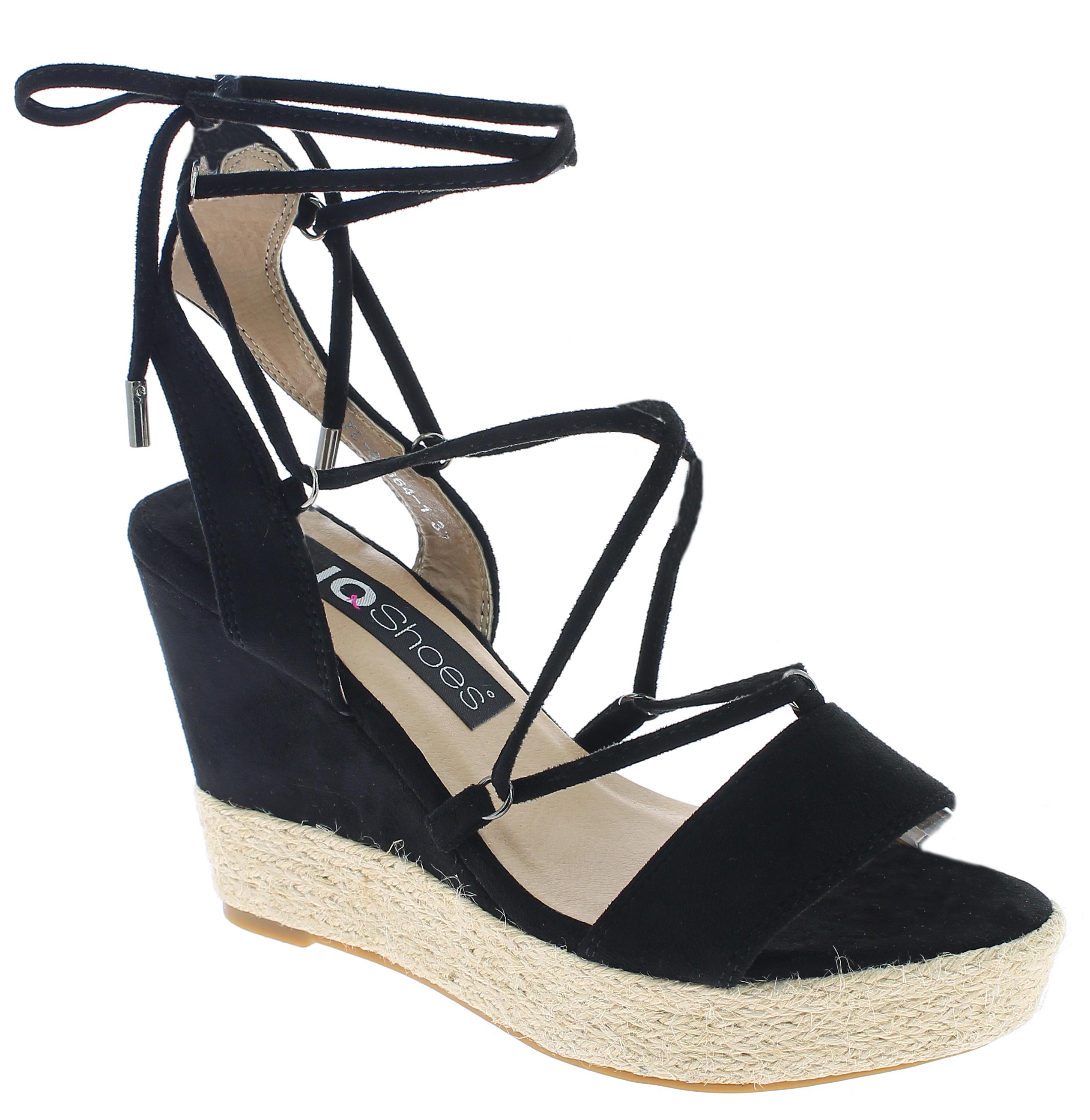 IQSHOES Γυναικεία Πλατφόρμα 3A364 Μαύρο - IqShoes - 3A364 BLACK-black-39/1/15/25 παπούτσια  πέδιλα