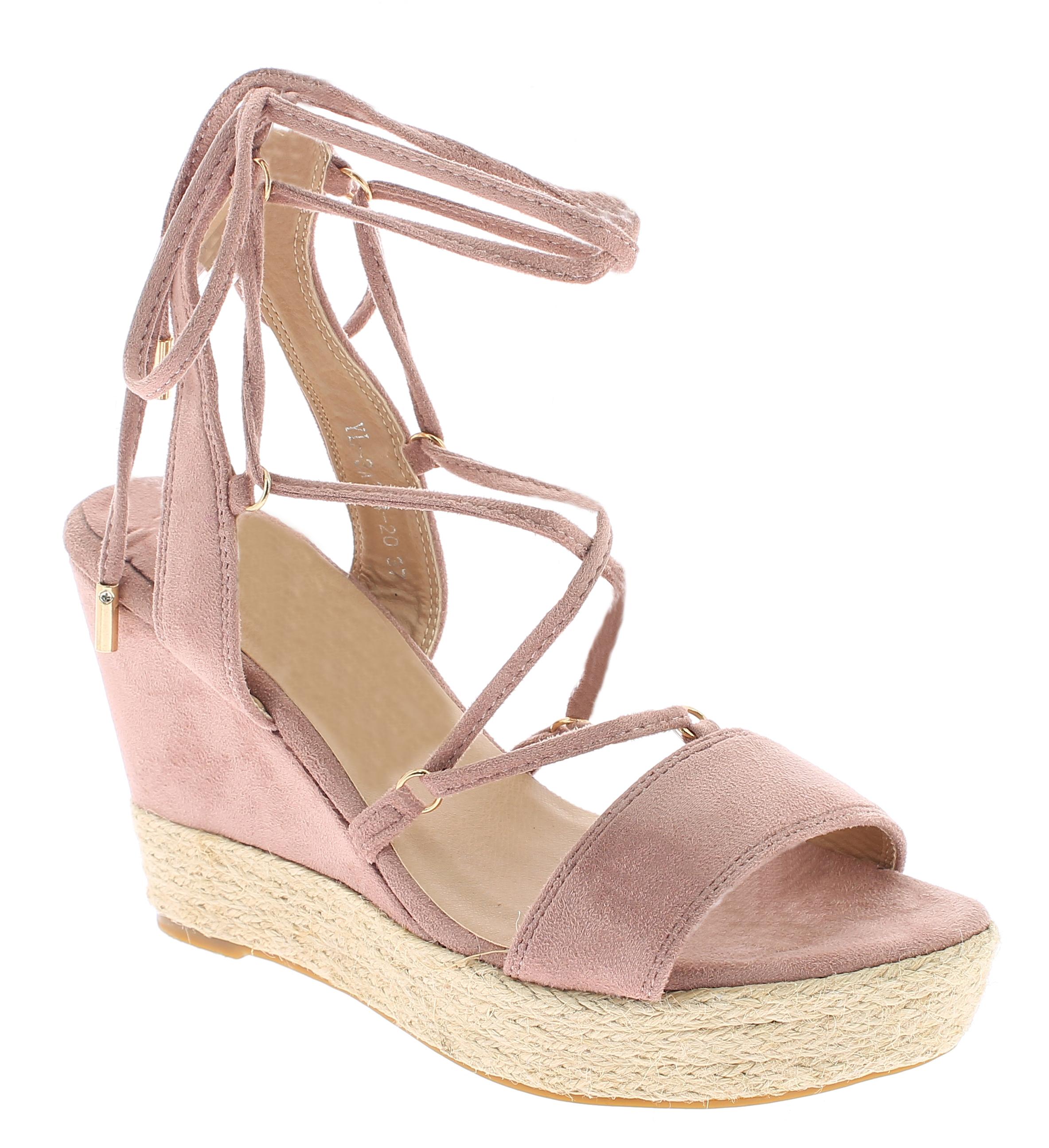 IQSHOES Γυναικεία Πλατφόρμα 3A364 Ρόζ - IqShoes - 3A364 PINK-pink-38/1/11/11 παπούτσια  πέδιλα