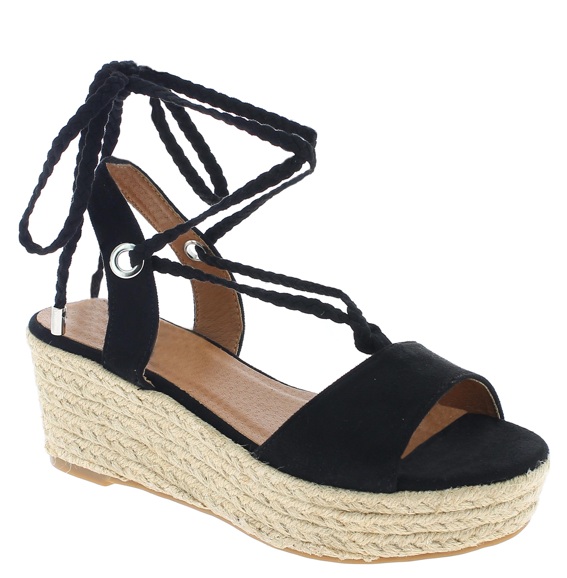 IQSHOES Γυναικεία Πλατφόρμα 3A363 Μαύρο - IqShoes - 3A363 BLACK-black-36/1/15/7 παπούτσια  πέδιλα