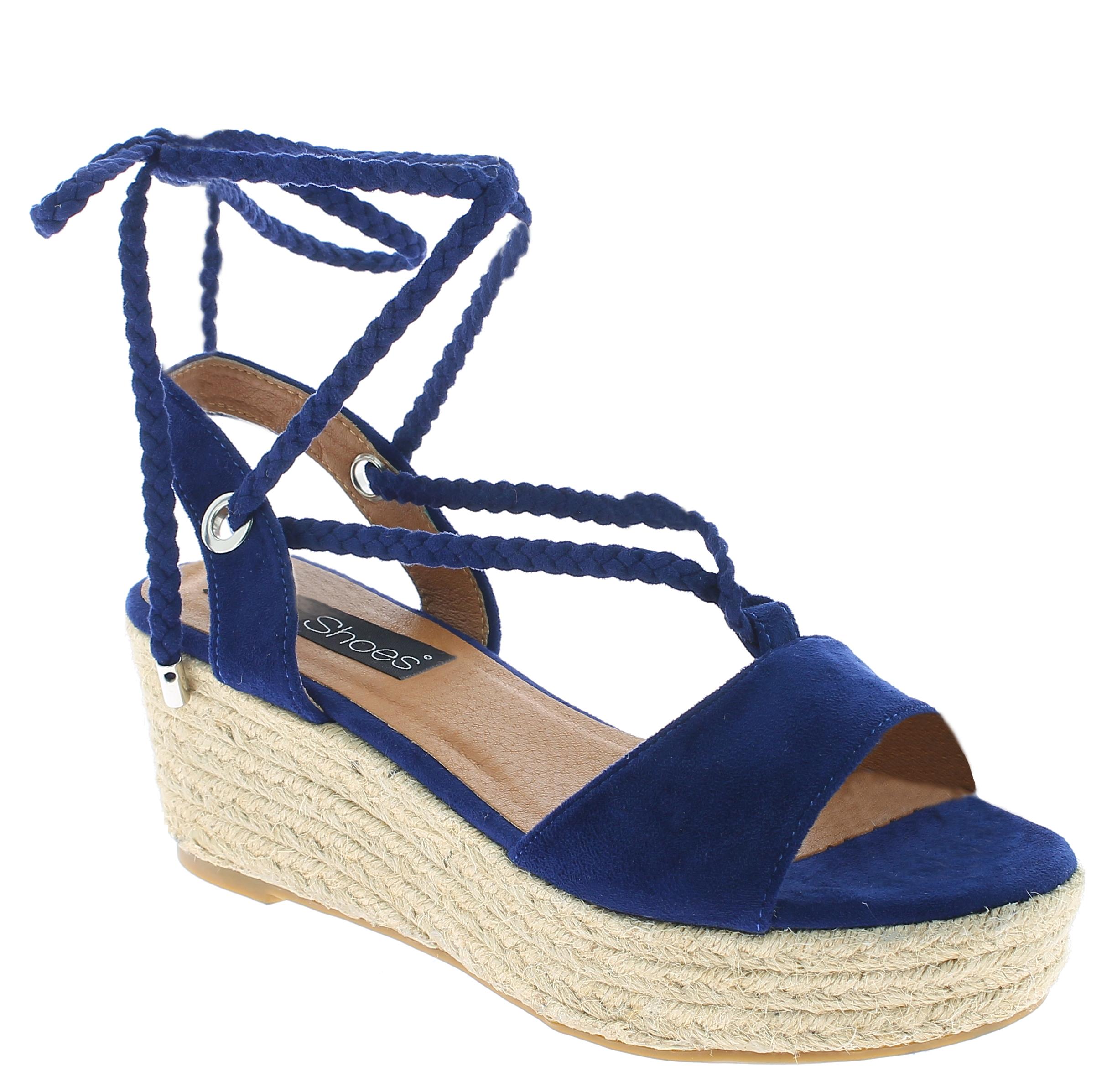 IQSHOES Γυναικεία Πλατφόρμα 3A363 Μπλέ - IqShoes - 3A363 BLUE-blue-36/1/23/7 παπούτσια  πέδιλα