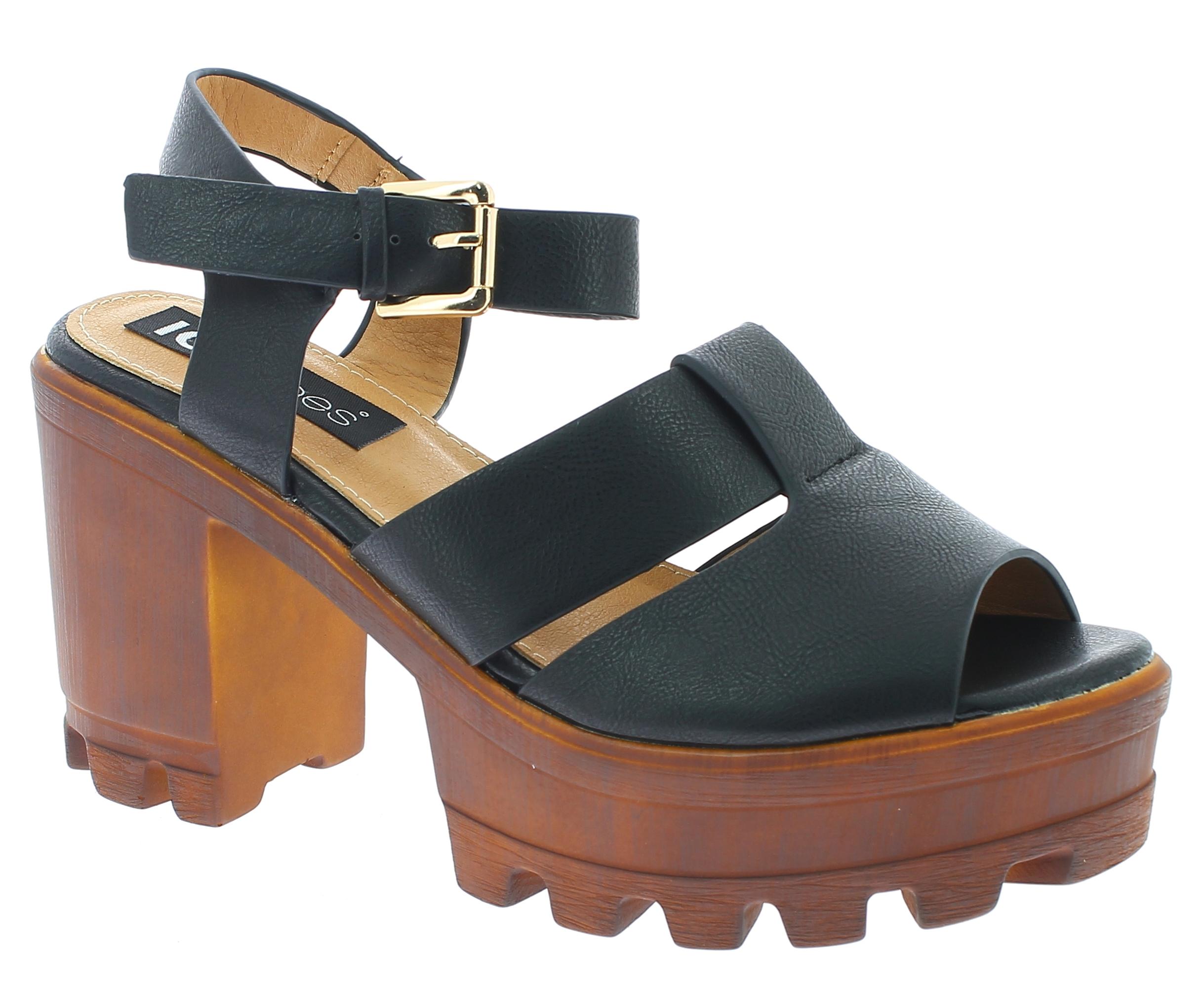 IQSHOES Γυναικείο Πέδιλο 3A3423 Μαύρο - IqShoes - 3A3423 BLACK-black-36/1/15/7 παπούτσια  πέδιλα
