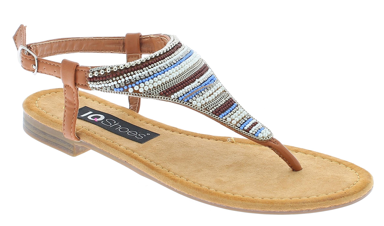 IQSHOES Γυναικεία Σανδάλια M1067 Κάμελ - IqShoes - AM1067 CAMEL-camel-37/1/25/27 παπούτσια  γυναικεία σανδάλια   πέδιλα