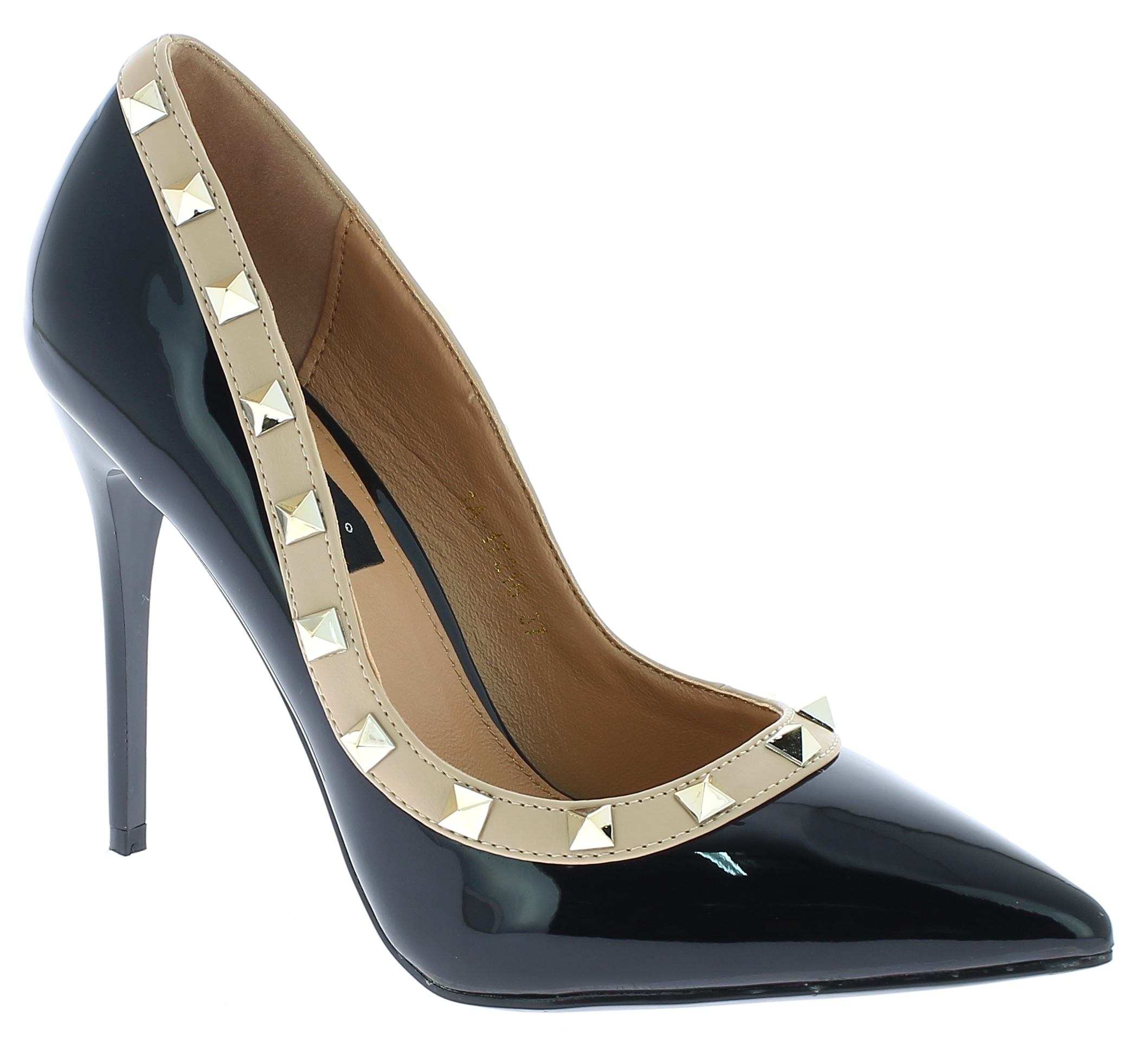 IQSHOES Γυναικεία Γόβα 1A17126 Μαύρο - IqShoes - 1A-17126 BLACK-black-37/1/15/27 παπούτσια  γόβες