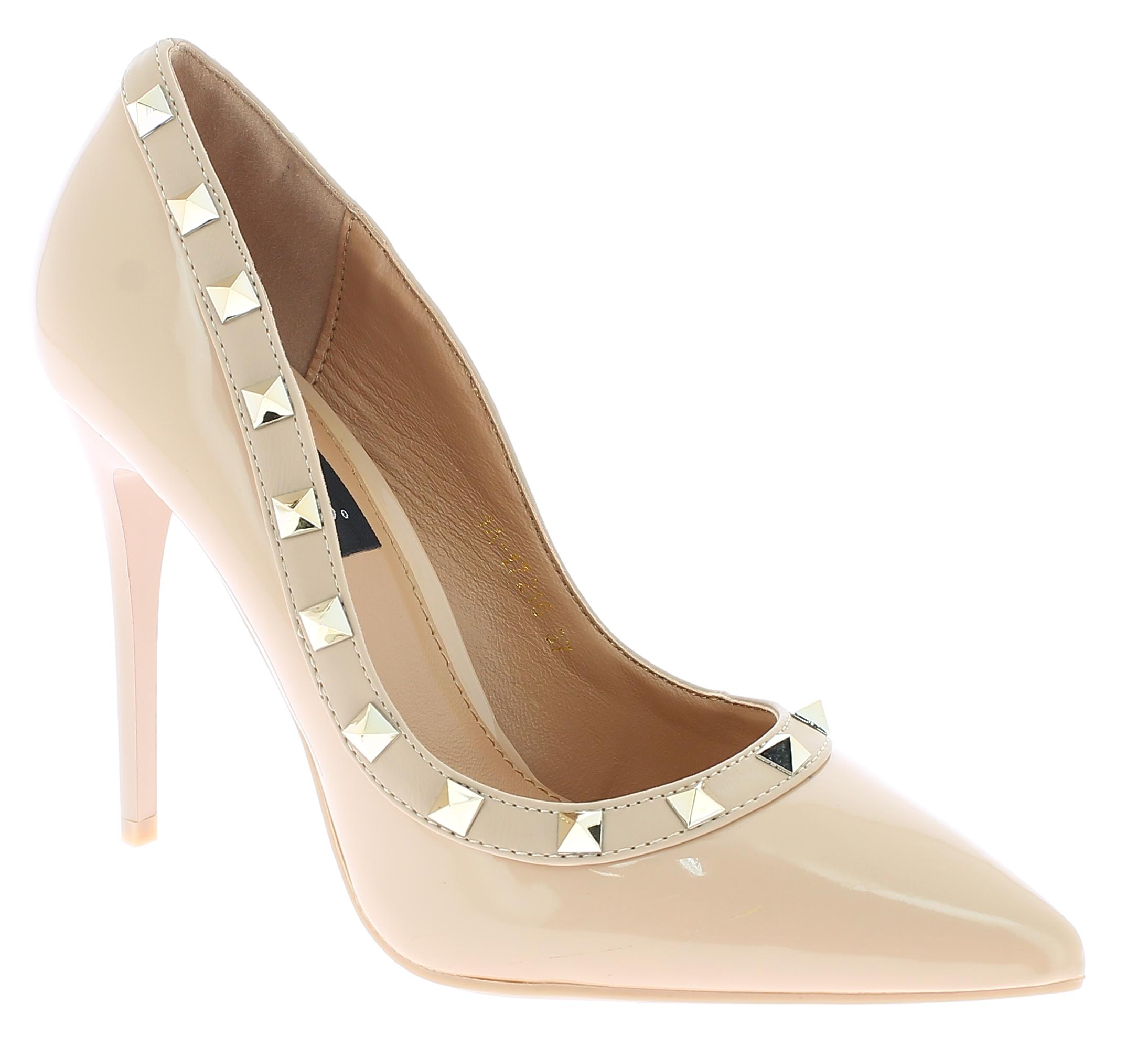 IQSHOES Γυναικεία Γόβα 1A17126 Ρόζ - IqShoes - 1A-17126 PINK-pink-37/1/11/27 παπούτσια  γόβες