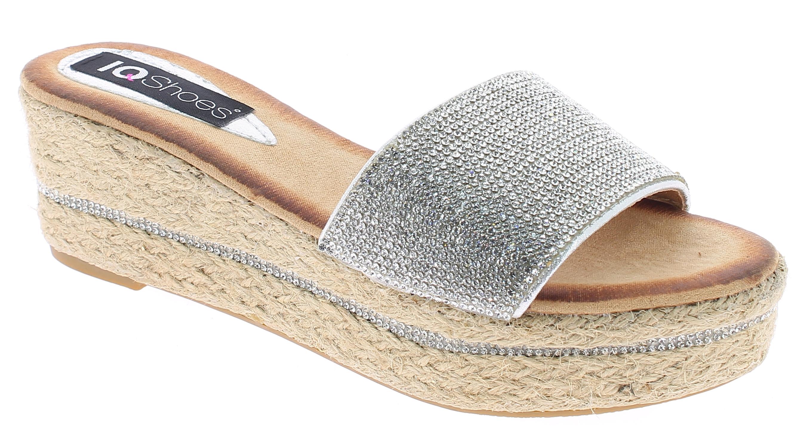 IQSHOES Γυναικεία Πλατφόρμα 1AE17171 Ασημί - IqShoes - 1AE-17171-silver-37/1/35/ παπούτσια  γυναικείες πλατφόρμες