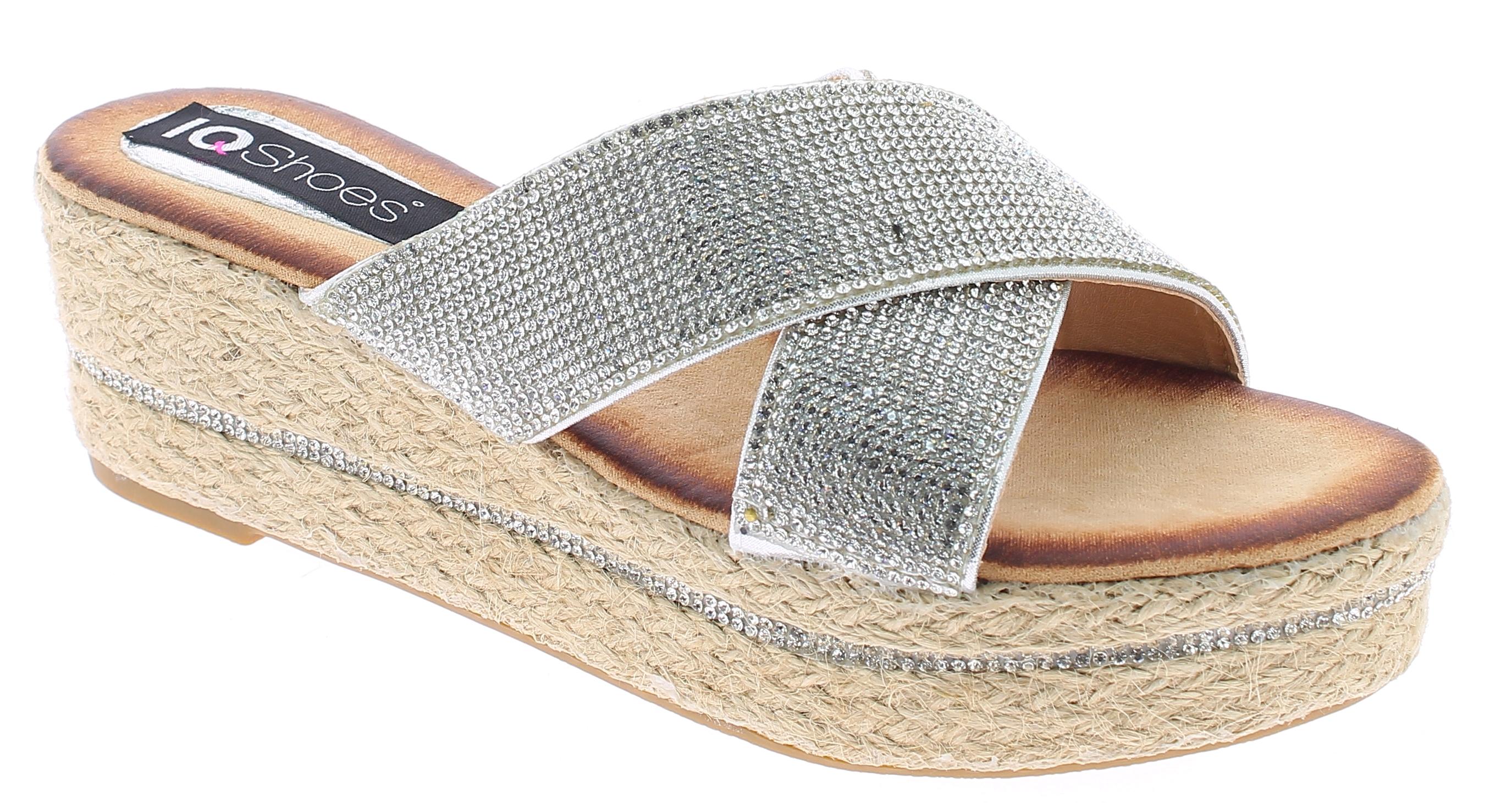 IQSHOES Γυναικεία Πλατφόρμα 1AE17197 Ασημί - IqShoes - 1AE-17197 SILVER-silver-3 παπούτσια  γυναικείες πλατφόρμες