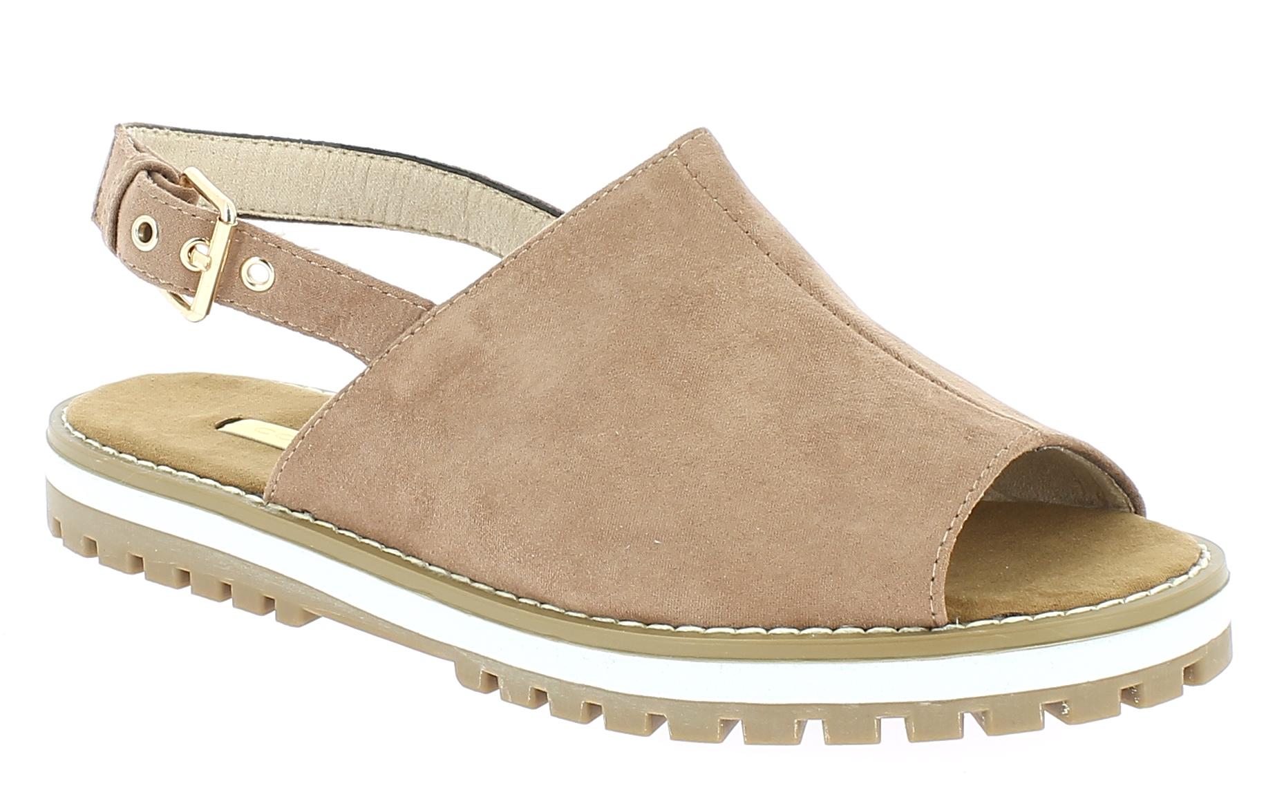 CORINA Γυναικείο Πέδιλο C7342 Ρόζ - IqShoes - C7342 PINK-pink-37/1/11/27 παπούτσια  πέδιλα