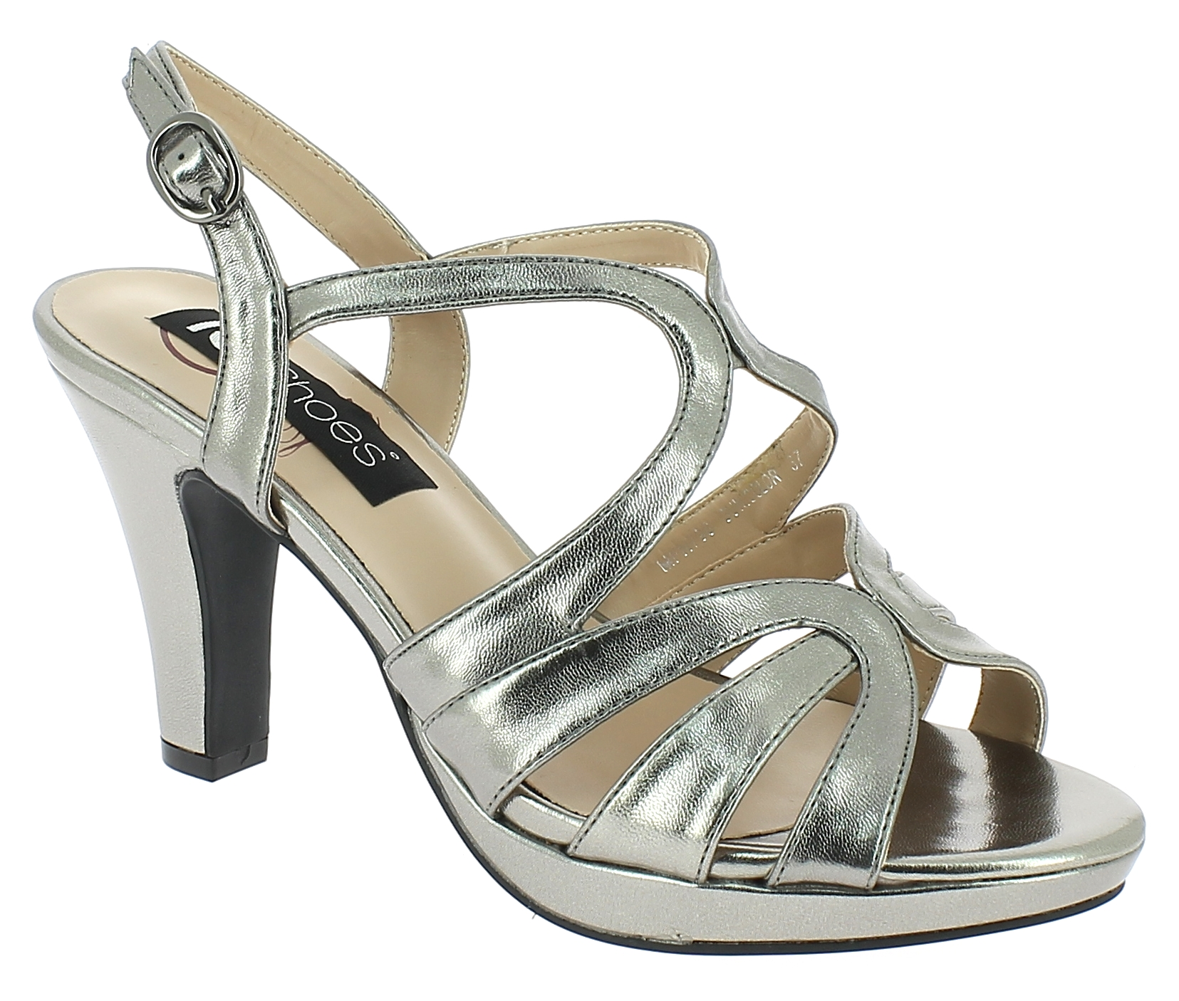 IQSHOES Γυναικείο Πέδιλο MFN798 Μπρονζέ - IqShoes - MFN798 GUN-bronze-36/1/34/7 παπούτσια  πέδιλα