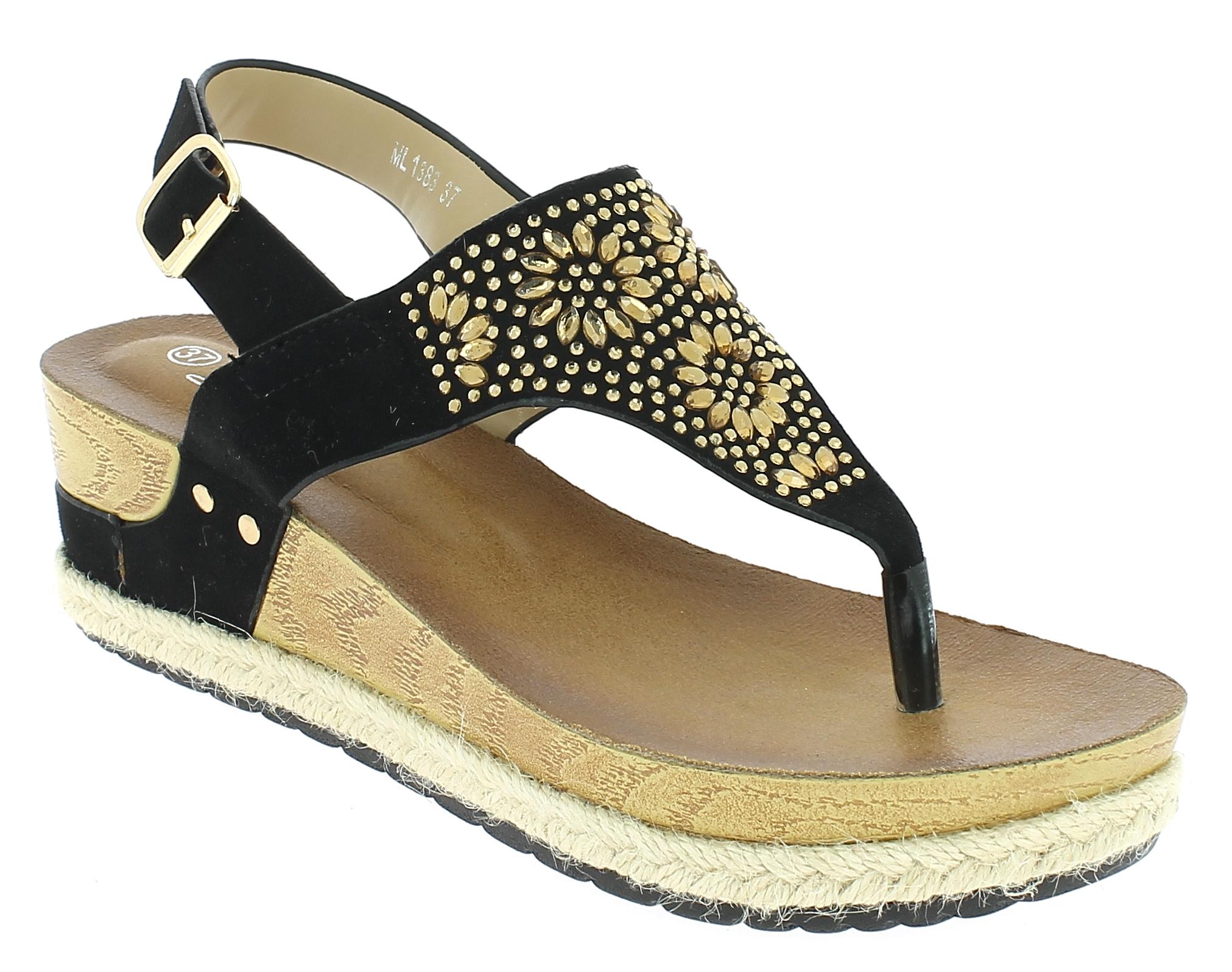 IQSHOES Γυναικεία Πλατφόρμα ML1383 Μαύρο - IqShoes - ML1383 BLACK-black-37/1/15/ παπούτσια  γυναικείες πλατφόρμες