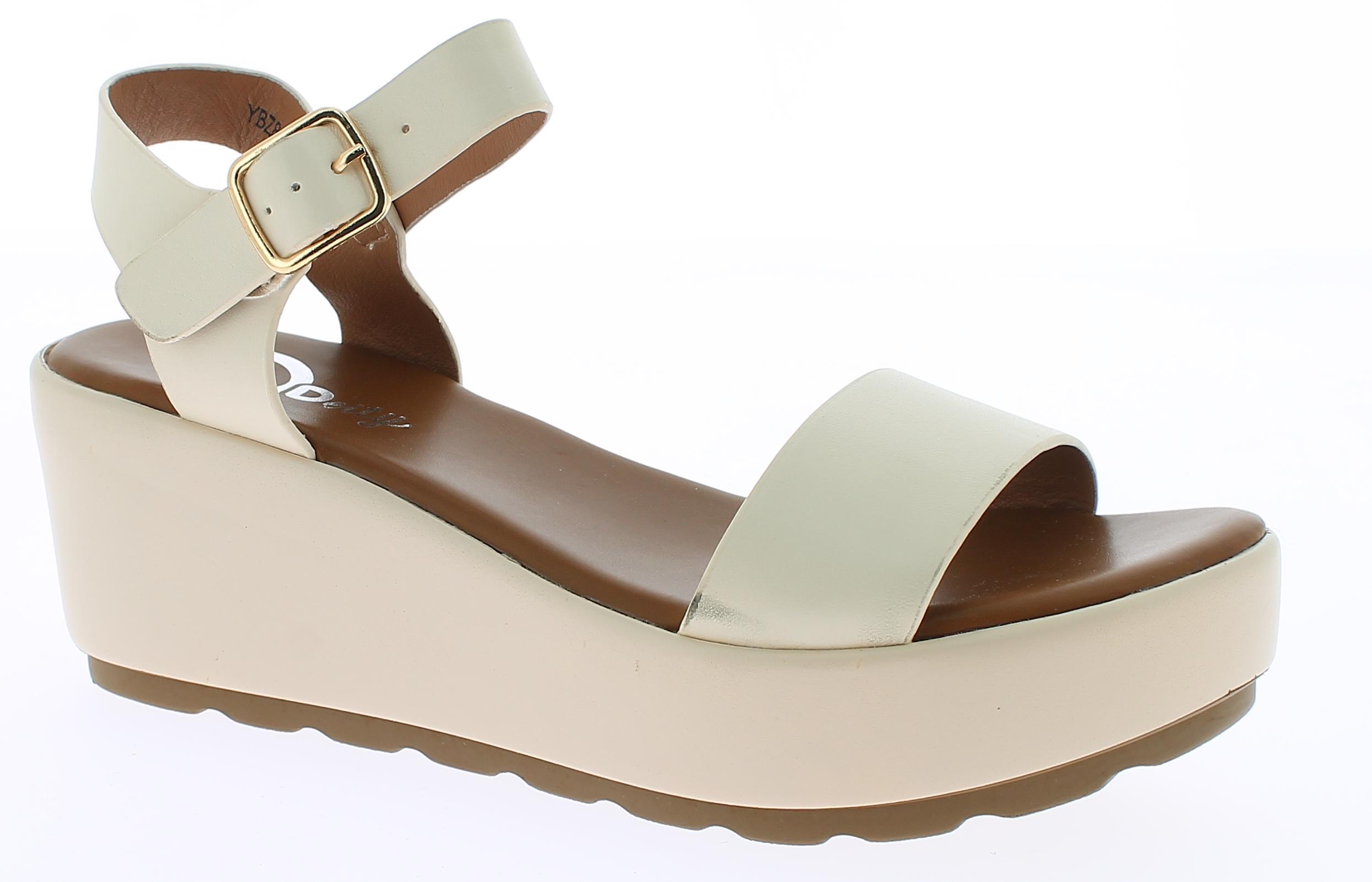 BALLERI Γυναικείο Πέδιλο YBZ8273 Μπέζ - IqShoes - YBZ8273 BEIGE-beige-39/1/7/25 παπούτσια  πέδιλα