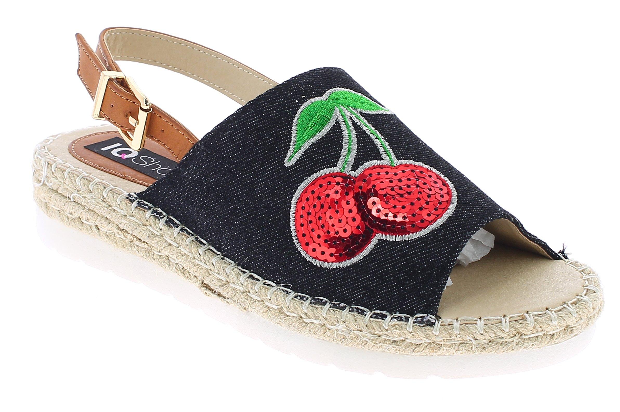 IQSHOES Γυναικείο Πέδιλο 170113 Μαύρο - IqShoes - 1701-13 BLACK-black-36/1/15/7 παπούτσια  γυναικεία σανδάλια   πέδιλα