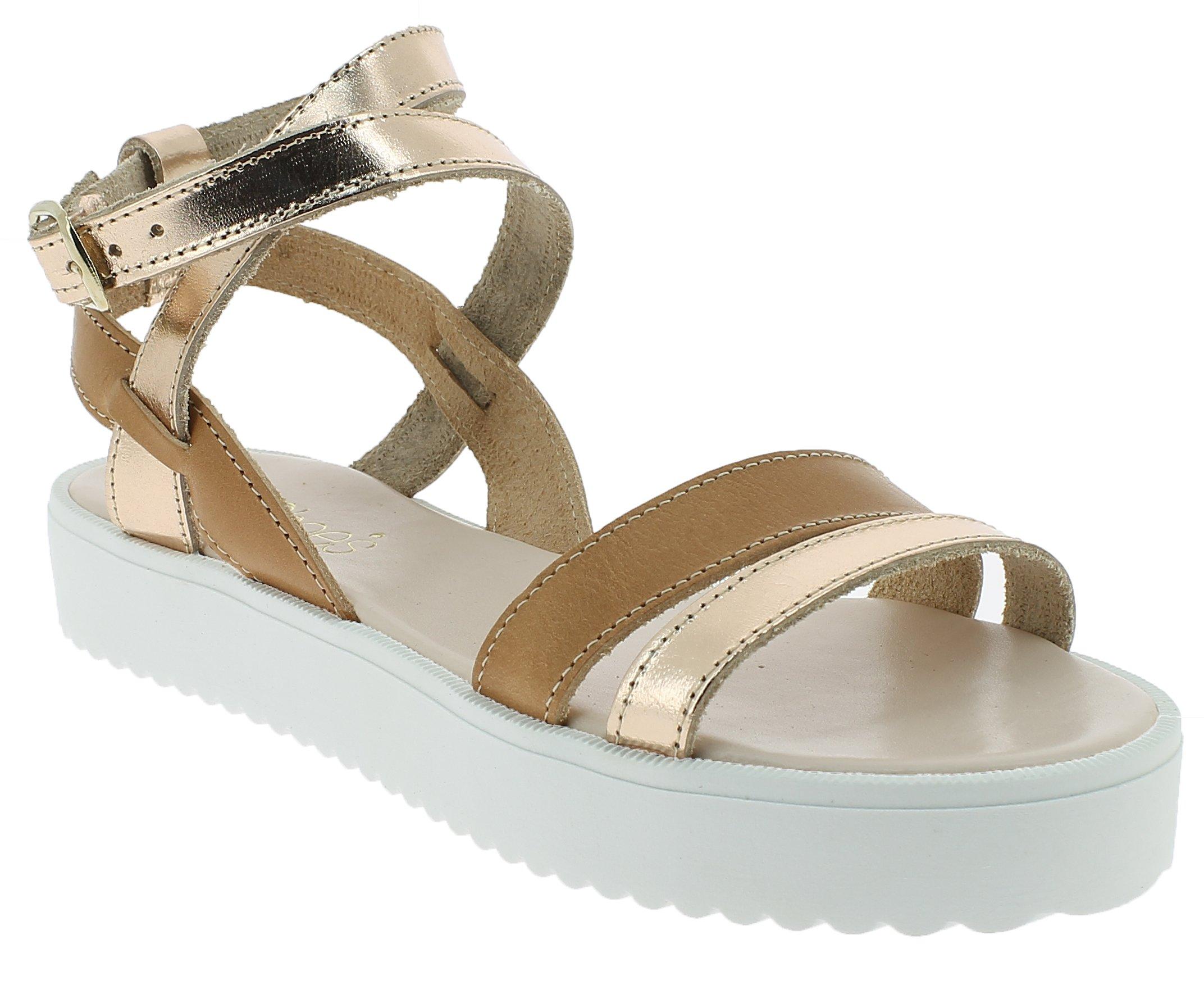 IQSHOES Γυναικείο Πέδιλο B61 Μπεζ - IqShoes - 50.B61 beige 40/1/7/8 παπούτσια  προσφορεσ