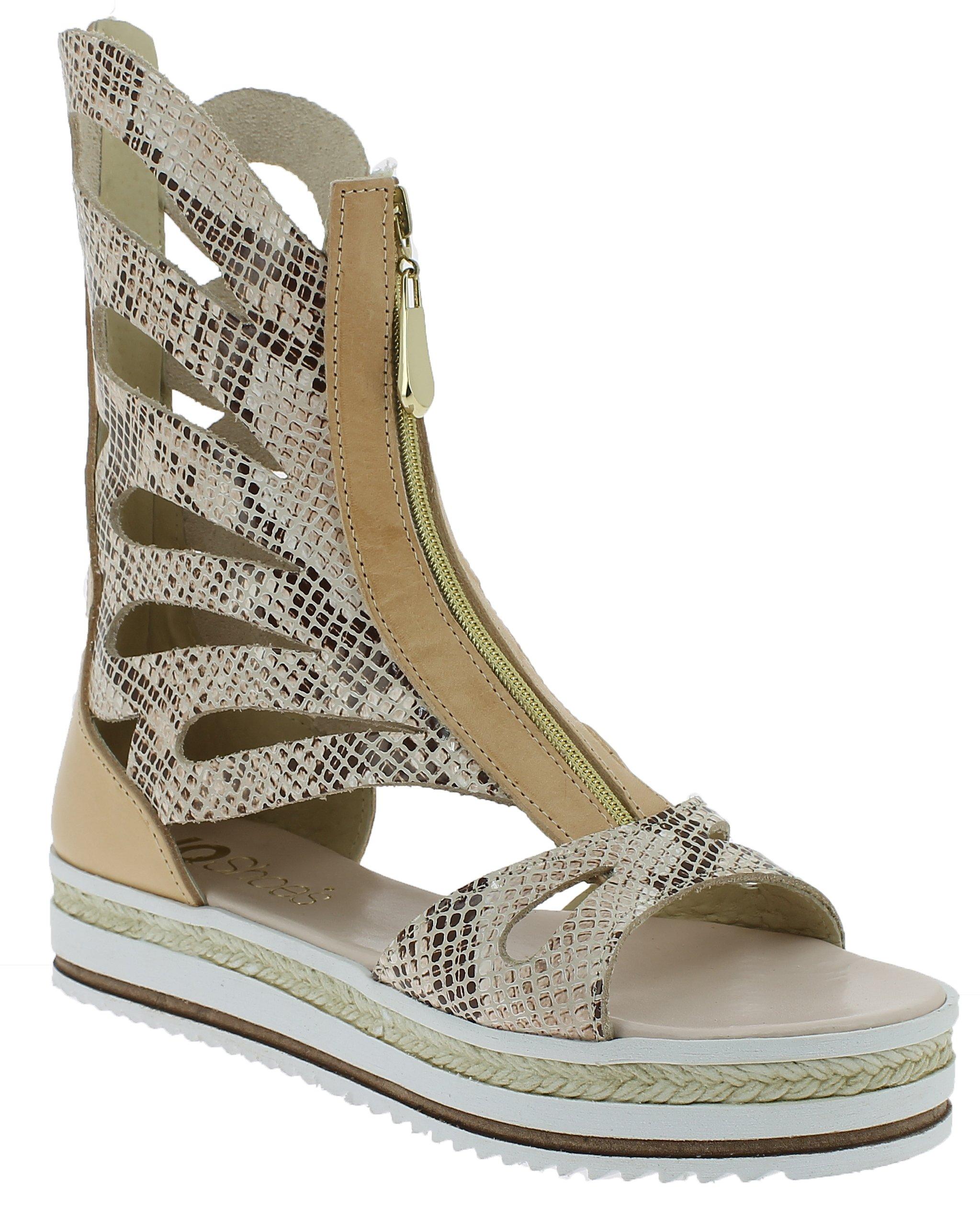 IQSHOES Γυναικείο Πέδιλο B23T Μπεζ - IqShoes - 50.B23T BEIGE-IQSHOES-beige-38/1/ παπούτσια  προσφορεσ
