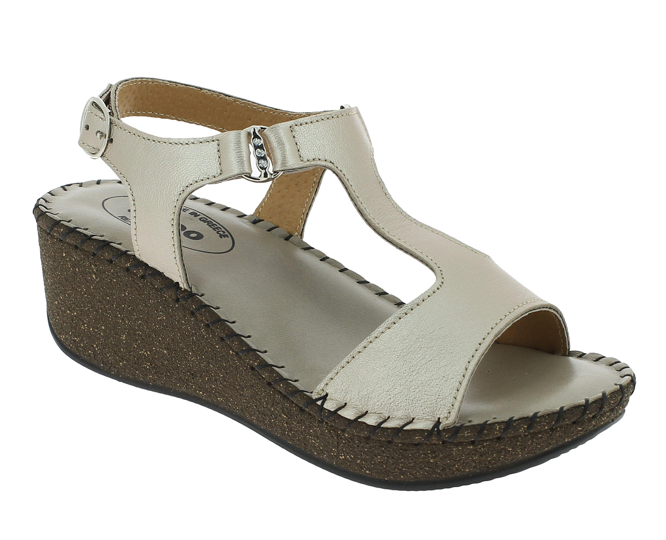 TATOO Γυναικείο Πέδιλο 4040 Μπεζ - IqShoes - 10.4040 beige 40/1/7/8 παπούτσια  πέδιλα