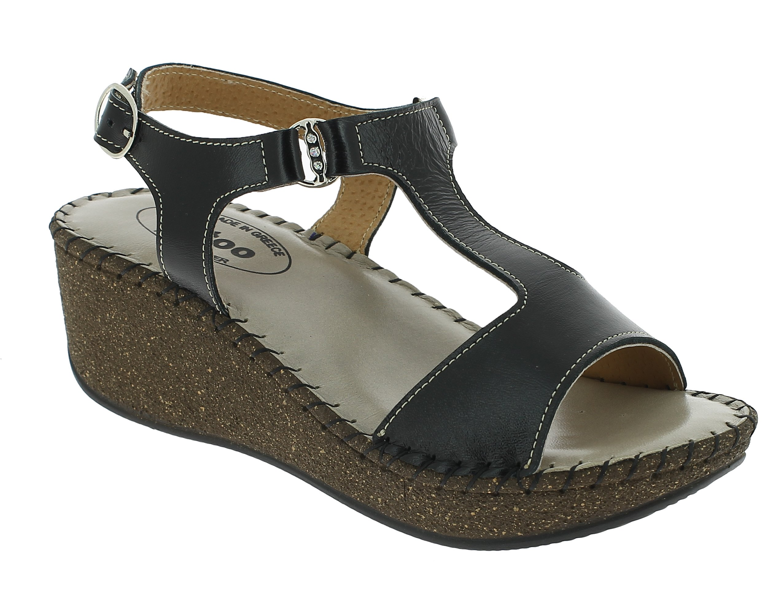 TATOO Γυναικείο Πέδιλο 4040 Μαύρο - IqShoes - 10.4040 black 37/1/15/27 παπούτσια  πέδιλα