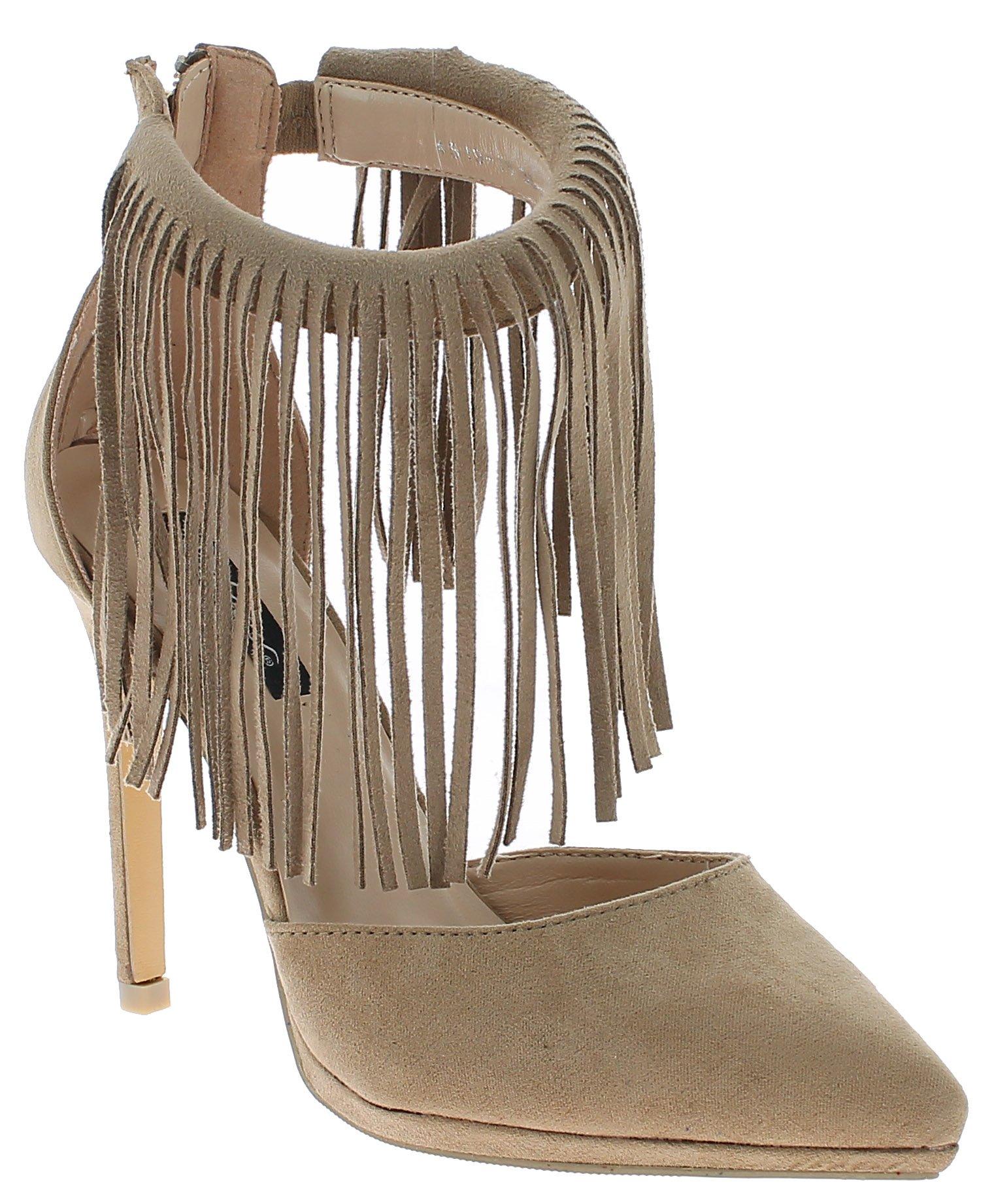 IQSHOES Γυναικεία Γόβα 451918 Μπεζ - IqShoes - 4519-18 beige 36/1/7/7 παπούτσια  προσφορεσ