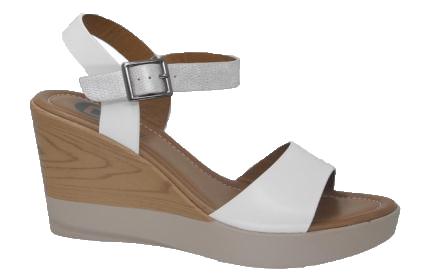 Γυναικεία Πλατφόρμα YBZ8227 Λευκό - IqShoes - YBZ8227 white 38/1/14/11 παπούτσια  προσφορεσ